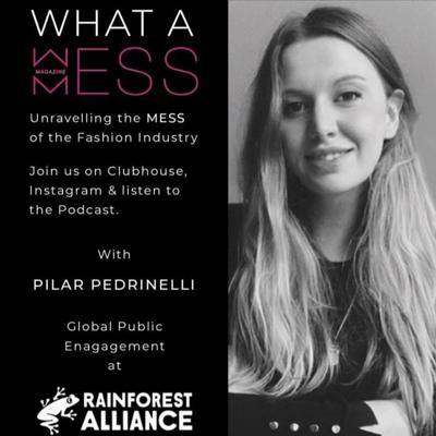 Cover art for Episode 6 with Pilar Pedrinelli, Sustainability Activist