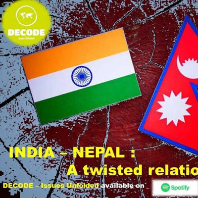 Cover art for India - Nepal : A twisted relation