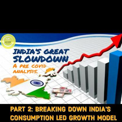 Cover art for EP 4|| PART 2|| DECODING INDIA'S GREAT SLOWDOWN : BREAKING DOWN THE CONSUMPTION LED GROWTH MODEL