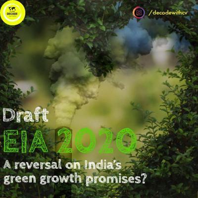 Cover art for EP 7|| POLICY TALK|| DRAFT EIA 2020 : A reversal on India's green growth promises?