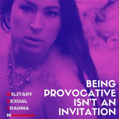 Cover art for Being Provocative isn't an Invitation