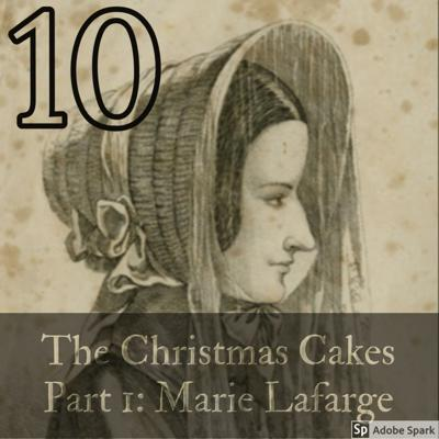 Cover art for The Christmas Cakes Part 1: Marie Lafarge