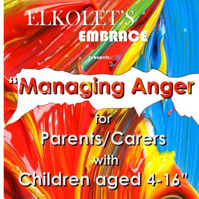 Cover art for Managing Anger - for Parents/Carers of Children aged 4-16