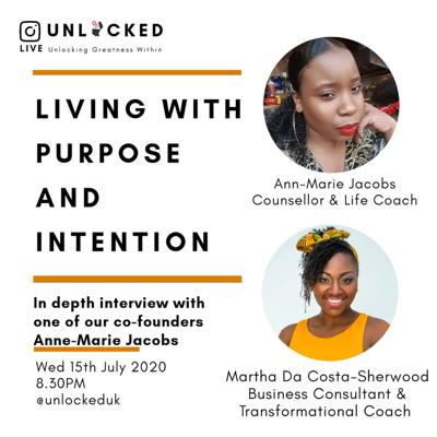 Cover art for Living with Purpose and Intention