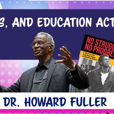 Cover art for No struggle, no progress with Dr. Howard Fuller