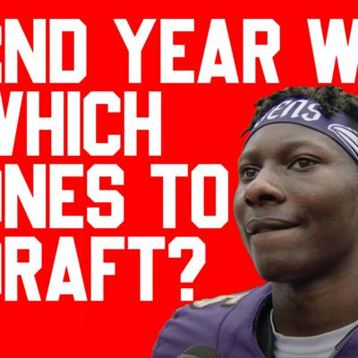 Cover art for 2020 Fantasy Football: Breakdown On Second Year Wide Receivers PART 3 (Dynasty and Redraft)