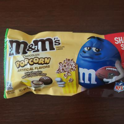 Cover art for M&Ms Chocolate Popcorn Review