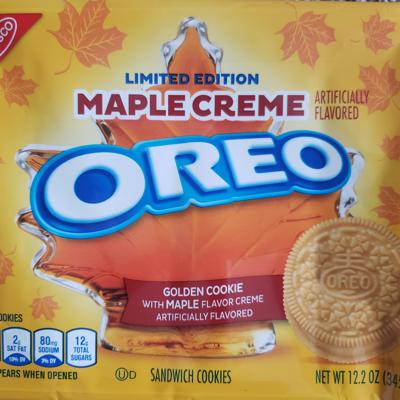 Cover art for Maple Creme Oreos Review
