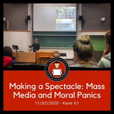 Cover art for Making a Spectacle: Mass Media and Moral Panics