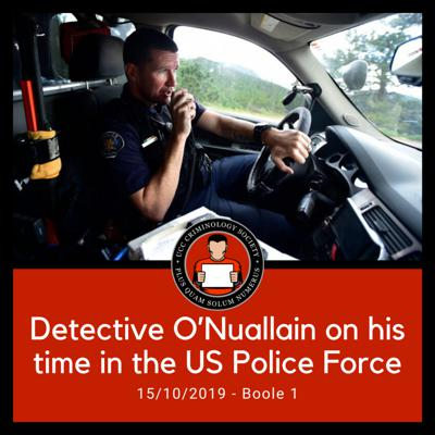 Cover art for Detective O'Nuallain on his time in the US Police Force