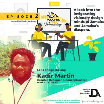 Cover art for JDA Podcast 2: Interview with Kadir Martin - Bridge the gap
