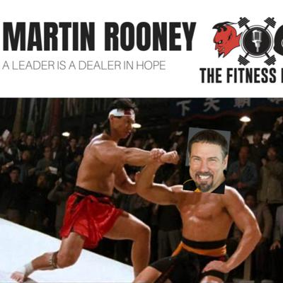 Cover art for Martin Rooney EP 141: A Leader Is A Dealer In Hope