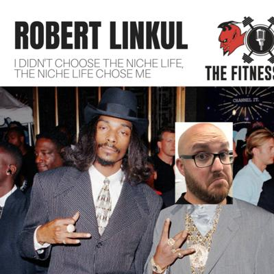 Cover art for Robert Linkul EP 144: I Didn't Choose The Niche Life, The Niche Life Chose Me