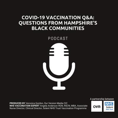 Cover art for Black People and COVID-19 Vaccination Q&A