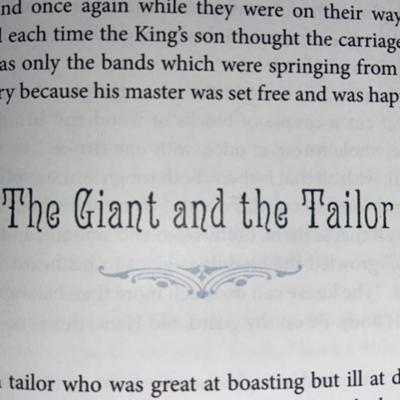 Cover art for The Giant and the Tailor