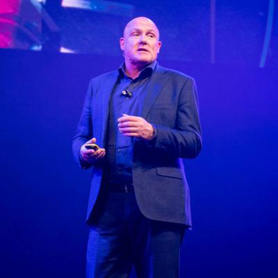 Cover art for André Kuipers (Astronaut) on Educating a generation of earth ambassadors | #TNW2019