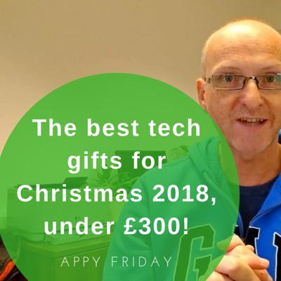 Cover art for The best tech gifts for Christmas, under £300!