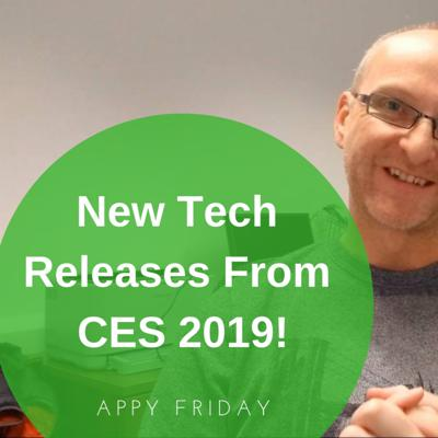 Cover art for New Tech Releases From CES 2019!