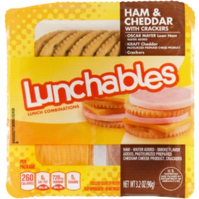 Cover art for Lunchables