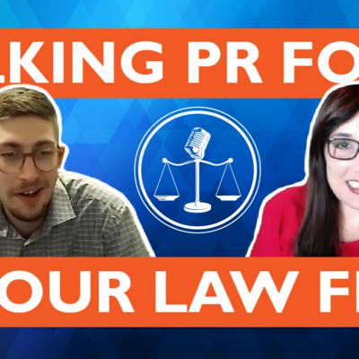 Cover art for PR for Your Law Firm - Reputation EXPERT Michelle Calcote King Joins Us! Episode 1