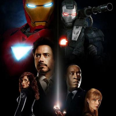 Cover art for Pictures Without Pictures #2 - Iron Man 2 - Richard Nixon is Iron Man?