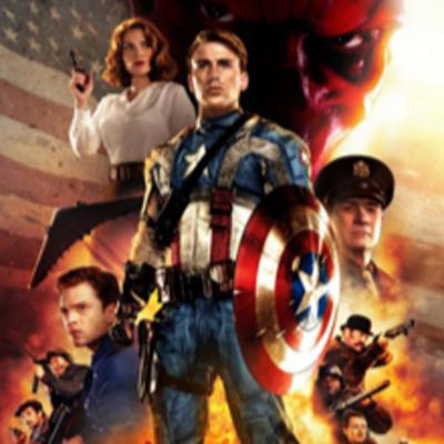 Cover art for Pictures Without Pictures #4 - Captain America - Doctors HATE Him!
