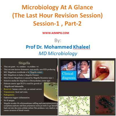 Cover art for Microbiology At A Glance (The Last Hour Revision) SESSION-1/3 (PART-2/2) by Prof Dr Mohammed Khaleel