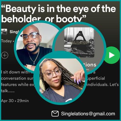 """Cover art for """"Beauty is in the eye of the beholder, or booty"""""""