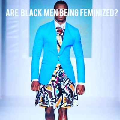 """Cover art for """"The customer is always right, story time with 'Nikki and Are black men being feminized?"""