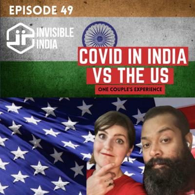 Cover art for 49   COVID in India vs the US