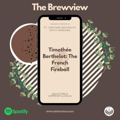Cover art for Timothee Berthelot: The French Fireball