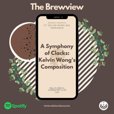 Cover art for A Symphony of Clacks: Kelvin Wong's Composition