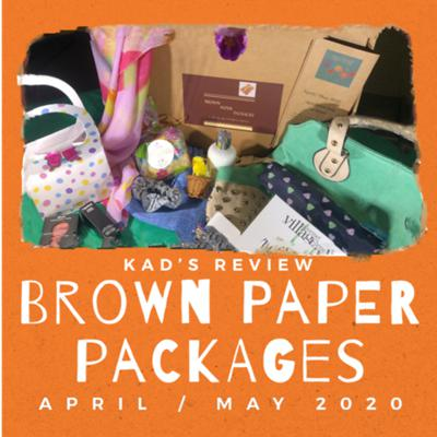 Cover art for Brown Paper Packages by The Hutch Sisters   April/May 2020 Subscription Box