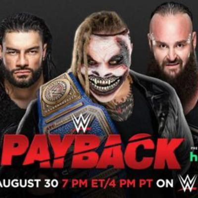 Cover art for WWE Payback 2020 Matches and Predictions