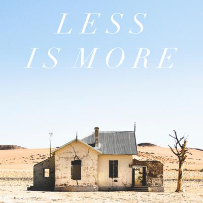 Cover art for   LESS IS MORE   Giving up an Image for an Identity