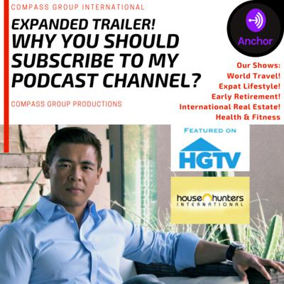 Cover art for Expanded Trailer! Why SUBSCRIBE to my Podcast Channel? More about our (5) new shows!