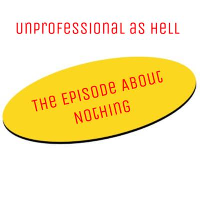 Cover art for The Episode About Nothing
