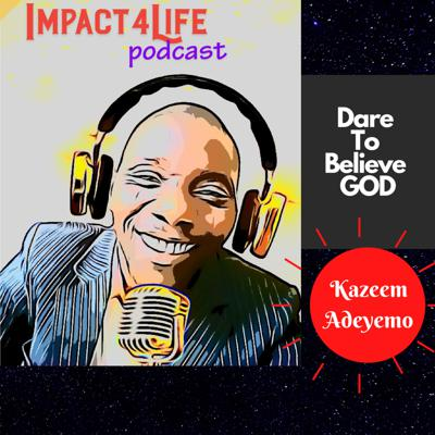 Cover art for DARE TO BELIEVE GOD