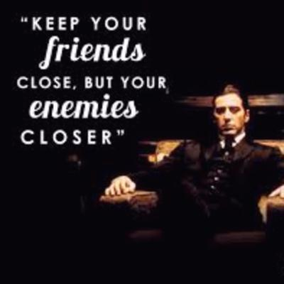 Cover art for How to keep your friends close