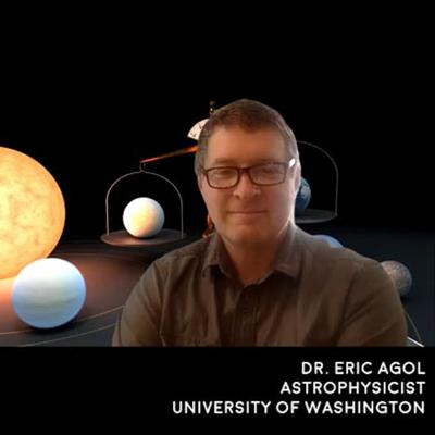 Cover art for The TRAPPIST-1 System - Dr. Eric Agol University of Washington - The Cosmic Companion Feb. 9, 2021