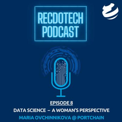 Cover art for Data Science - A woman's perspective with Maria Ovchinnikova @ Portchain