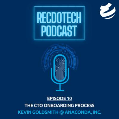 Cover art for The CTO Onboarding Process with Kevin Goldsmith @ Anaconda