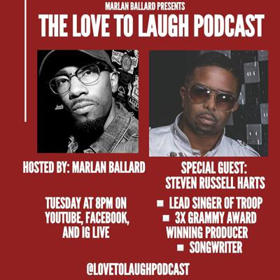 Cover art for Love To Laugh w/ Steven Russel from Troop