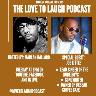 Cover art for Love To Laugh w/ Joe Little from The Rude Boys