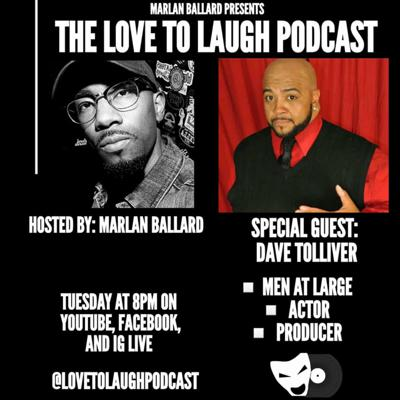 Cover art for Love To Laugh w/ Dave Tolliver