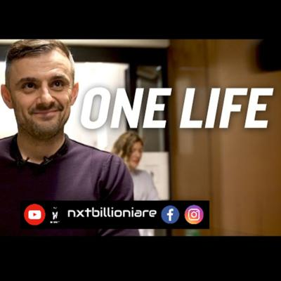 Cover art for One Life, No Regrets - @garyvee