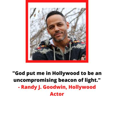 Cover art for Randy J. Goodwin: Life As a Christian in Hollywood
