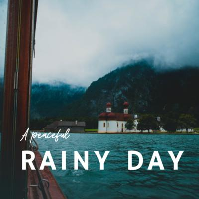 Cover art for A peaceful rainy day near the lake - (Focus and Relaxation)