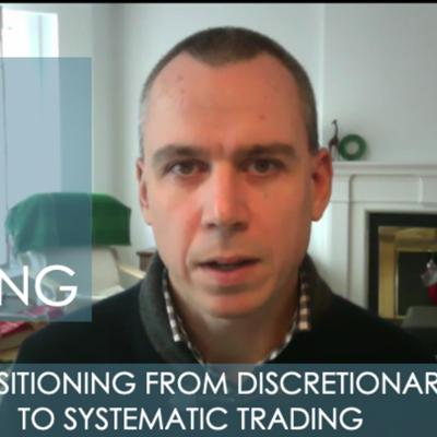 Cover art for The Ego In Trading - Transitioning From Discretionary to Systematic Trading w/ Dale Miller