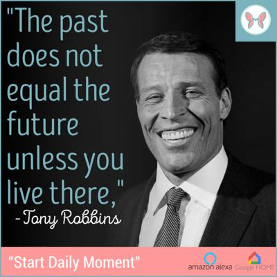 Cover art for ✨🎊 Today's Daily Moment ✨ Featuring Tony Robbins 🎊✨